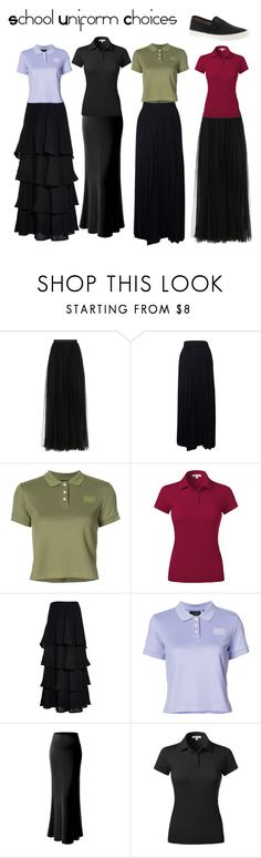 """School Uniform Choices"" by ohmygshsomeoneactually on Polyvore featuring Needle & Thread, Chanel, Puma, Kenzo and Sperry"