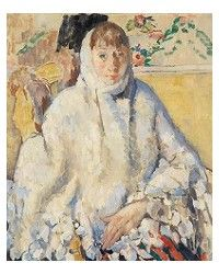 Rik Wouters, De zieke met de witte sjaal - (1912)