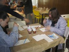 Alumnes treballen en La Ratjoleria