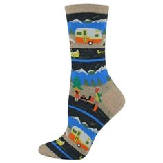 Women Socks Over Knee Whimsy Fish Winter Hot For Halloween
