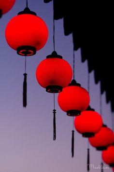 Beautiful Chinese lanterns.