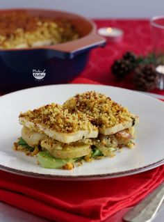 Tofu com broa, batatas e couve. Um prato delicioso e perfeito para dias de festa. A segunda de 3 receitas para o menu especial de natal 2016.