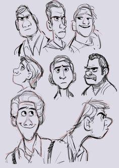 Drawing cartoon characters, cartoon man, cartoon sketches, cartoon faces, c Cartoon Drawings Of Animals, Cartoon Drawing Tutorial, Drawing Cartoon Characters, Cartoon Girl Drawing, Cartoon Sketches, Cartoon Styles, Drawing Cartoons, Character Design Cartoon, Character Sketches