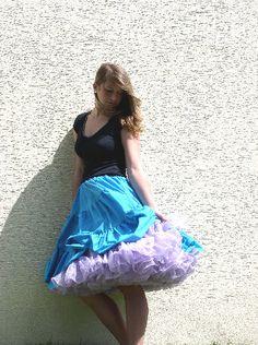 Petticoats, Tie Dye Skirt, Girls, Fashion, Toddler Girls, Moda, Daughters, Fashion Styles, Maids