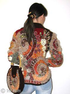 Tejido Facil: ¿Qué es Free Form Crochet?