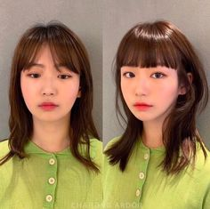 Pin on new hair cut✨ Pin on new hair cut✨ Layered Haircuts For Medium Hair, Medium Hair Styles, Curly Hair Styles, Ulzzang Hair, Korean Short Hair, Shot Hair Styles, Hair Dye Colors, Girl Short Hair, Bad Hair