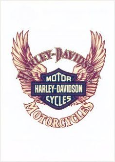 """Harley 2 Temporaray Tattoo by Tattoo Fun. $3.95. This neat temporary tattoo has a harley davidson symbol with a pair of wings and """"Harley Davidson Motorcycles"""" printed on top and bottom of the symbol. Size being 2"""" x 2.5"""""""