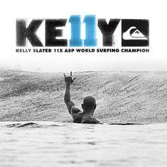 Kelly Slater. My Favorite pro surfer <3