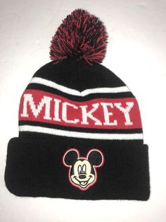 85f203b1c93 Mickey Mouse Kids Beanie Hat Walt Disney  fashion  clothing  shoes   accessories