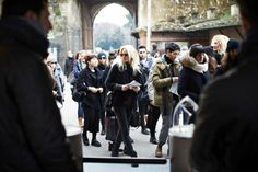 The oh-so-chic international buyers converge on Pitti