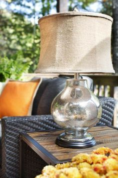 new outdoor technology, as well. On your deck or patio, designer Brian Patrick Flynn suggests adding a new propane-powered space heater.