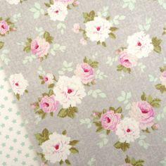 Tilda-Winter-memories-dove-grey-Pernille-rose-fabric-quilting-vintage-Nordic