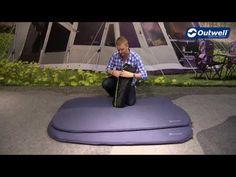 Luftmatratzen und Matten | Komfortables schlafen | Selbst Aufblasbare Matten | Outwell | Dreamcatcher Doppelt 5,0 cm | Outwell