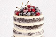 The naked cake – Recipes – Bite