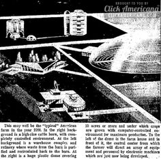 Farms of the future: Domed fields in the year 2000? (1967)