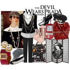 The Devils wears Prada for business casual, created by thinnita on Polyvore
