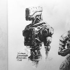 ArtStation - Ink and gouache., Nivanh Chanthara