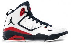 Nike Air Jordan SC-2 White - Obsidian - Gym Red