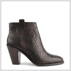 Ash Schuhe Ivana Boots aus Leder Schwarz Damen 39 EU Sigaro - Stiefel für frauen (*Partner-Link)