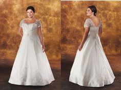 Top-heavy brides with hourglass figures look great in trumpet silhouettes, while an A-line cut plus size women or the women's better if you bottom-heavy