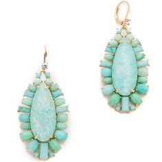 Kate Spade Seastone Sparkle Statement Earrings