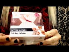 A new Xyron X Sticker Maker coming from Teresa Collins :)