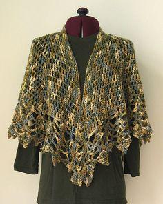 "Check out ""All Shawl"" pattern. 10 Most Popular Free Crochet Shawl Patterns"