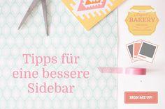 9 Tipps für eine optimale Blog-Sidebar & Widget-Empfehlungen. Fast jeder Blog hat eine Sidebar, meistens rechts neben dem Hauptinhalt. Leider wird die Sidebar allzu oft vollgestopft mit unnötigen Links, Bildern und Widgets.