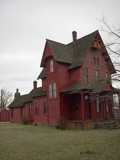 haunted house by westhillsgarage, via Flickr