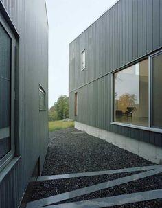Vertical Exterior Siding | Found on contemporist.com