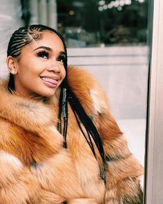 for more Saweetie pins go to Baddie Hairstyles, Black Girls Hairstyles, Cute Hairstyles, Braided Hairstyles, Saweetie Icy Grl, Icy Girl, Afro, Pretty Black Girls, Pretty Females