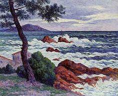 Henri Moret (French, 1856-1913) - L'Ile de Groux