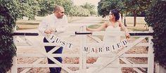 Vaulty Manor wedding gate