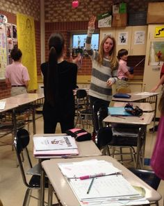 Vocab Tennis; this blog has AMAZING ideas for active learning. Love it!