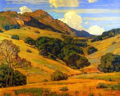 Wendt William To Mountain Heights And Beyond Canvas 16 x 20  #4533