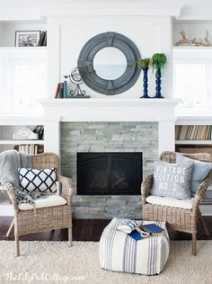 DIY Round Mirror tutorial with The Lilypad Cottage