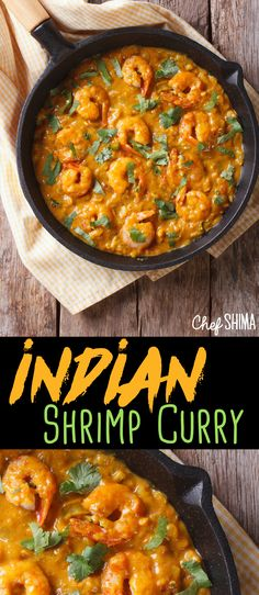 Indian Shrimp Curry | This is a great recipe! Can't wait to try it :)