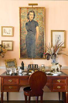Large portrait vingnette