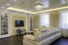living room decorating ideas, false ceiling