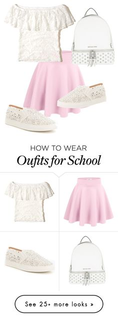 """""""Untitled #79"""" by aidycat16 on Polyvore featuring Hollister Co., MICHAEL Michael Kors and Antonio Melani"""