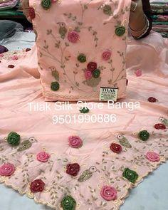 #Tilaksilkstorebanga#weddingdress #fashion #yyz #asianwedd #asianwedding #tilaksilkstorebanga#lehnga #sharara #anarkali #9501990886… Bridal Suits Punjabi, Punjabi Suits Party Wear, Pakistani Party Wear Dresses, Designer Party Wear Dresses, Kurti Designs Party Wear, Embroidery Suits Punjabi, Embroidery On Kurtis, Kurti Embroidery Design, Embroidery On Clothes