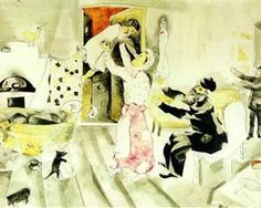 Visit to grandparents - Marc Chagall