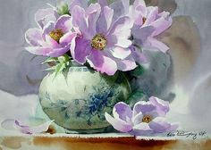 Shin Jong Sik ~ Korean Watercolor painter | Tutt'Art@ | Pittura * Scultura * Poesia * Musica |
