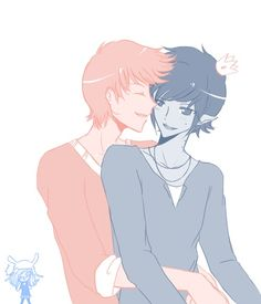 Adventure Time Shounen Ai Marshall Lee X Prince Gumball (Gumshall)
