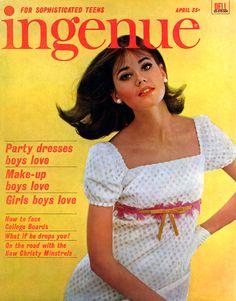 Colleen Corby (Ingenue Magazine Cover - 1965)