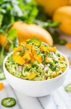 Mango Madness Guacamole   Get Inspired Everyday!