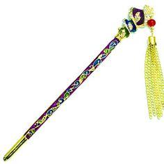 YOY Fashion Long Hair Decor Chinese Traditional Style Hai... http://www.amazon.com/dp/B01EK2YWCA/ref=cm_sw_r_pi_dp_tPvkxb0NF430Y