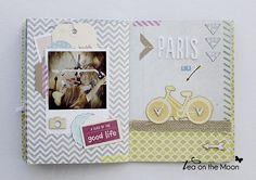 mini album scrapbook Paris by Tea on the moon ♥ begoña ♥, via Flickr