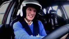 When he had the most British road rage ever. | 31 Times Matt Smith Was The Most Perfect Human Being Ever