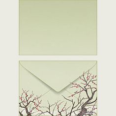 Canon offers free printable envelopes! What a great way to spice up snail mail.
